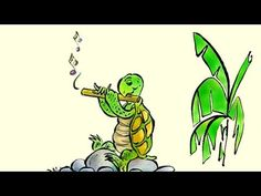 "▶ Turtle's Flute: Learn French with subtitles - Story for Children ""BookBox.com"" - YouTube"