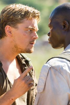 """Sometimes I wonder... will God ever forgive us for what we've done to each other? Then I look around and I realize... God left this place a long time ago.""   -Blood Diamond"
