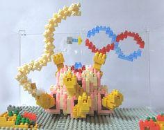«#nanoblock #nanoblocks  #bricks  #blocks#ナノブロック #Rtype#Gomander#ゴマンダー»