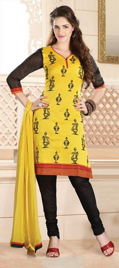 99993 Yellow color family Cotton Salwar Kameez in Cotton fabric with Printed work. Cotton Salwar Kameez, Indian Salwar Kameez, Punjabi Dress, Military Girl, Indian Dresses, Casual Wear, Cotton Fabric, Tunic Tops, Women's Fashion