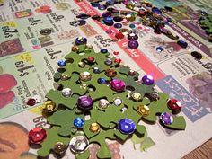 Puzzle Christmas Tree