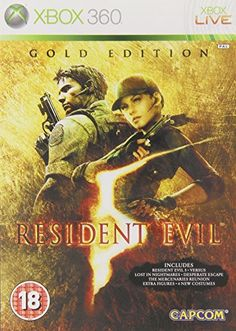 Resident Evil 5 Gold Edition EU Edition Xbox 360 -- Click image to review more details. Note:It is Affiliate Link to Amazon.