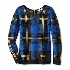 Milly Sweater - Plaid - Fall Fashion Trends 2013 - Fashion - InStyle nordstrom.com