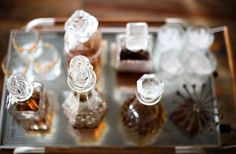 The Glamour of a Crystal Decanter :: but please don't use them as they were intended... — Glamour Drops