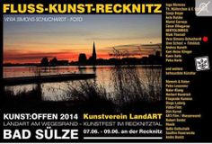 Kunst Offen 2014 | Kunst Offen – Fluss – Kunst -Recknitz – Vera Simons-Schuchardt