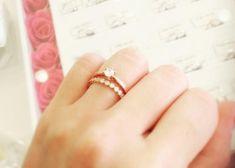 ずっと身に着けていたいから♡結婚指輪と婚約指輪の『重ね付け』におすすめなブランド3選*のトップ画像