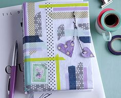 Heres a very creativ way to make your notebook much more loveable :-)