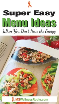 Here are some super easy menu ideas when you're feeling overwhelmed or have no energy. #easyrecipemenus #paleorecipes #antiinflammatory Healthy Eating Tips, Healthy Foods To Eat, Healthy Fats, Paleo On The Go, How To Eat Paleo, Paleo Recipes, Whole Food Recipes, Main Food Groups, Eating Vegetables