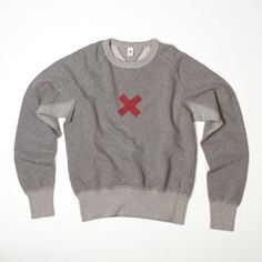 The Standard Sweatshirt via Best Made Co. Unsure about the length of the waistband and cuffs, but the look is assuredly there.