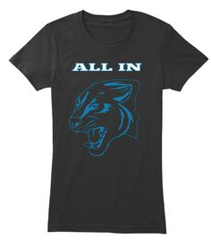ALL IN PANTHERS 50   Teespring