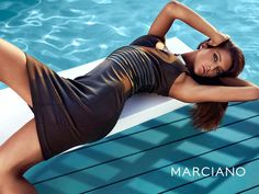 Model Leticia Zuloaga, photographers Hunter & Gatti for Guess by Marcianos, Fall 2013 campaign