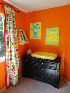 I think we've decided on a monster theme for the nursery!