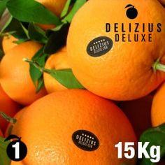 Naranjas Valencianas Deluxe Navelinas 15 kg