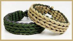 Paracord Bracelet: Wide Endless Falls Bracelet Design Without Buckle