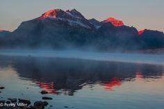 Sun Kissed Peaks in the Rockies