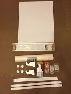 eine notizwand f r unter 5 euro ohhhmhhh euro und schreibtische. Black Bedroom Furniture Sets. Home Design Ideas
