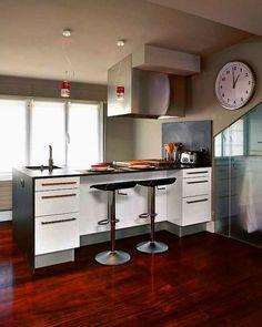 Doce cocinas con barra (y sus planos)