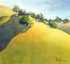 Hillside by Maud Durland. This painting reminds me so much of the times I had with my open jumper, Frosty, a beautiful Palomino, who touched and formed my life immeasurably.  I love this painting and those times of innocence and love will always be with me.