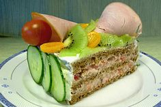 """As you can see these Scandinavian cuisine sandwich cakes can be meat filled like this one (and kind of like the ones in my post """"Top 10 Meat..."""
