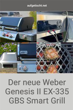 Von vielen Rezepten und natürlich auch von der Vorstellung unserer Grillgeräte kennt ihr ja schon unseren Weber Genesis II SP-435 GBS Gasgrill. Wir haben unseren Genesis super gerne im Einsatz und freuen uns jetzt aber dennoch, euch die neue Generation der Gasgrills ebenfalls vorstellen zu dürfen, denn nun (Stand 06/2021) ist bereits das Nachfolgemodell auf dem Markt – der Weber Genesis II EX-335 GBS Smart Grill. - Grillgeräte Empfehlung - Testbericht für Grills - Große Gasgrill Liebe 🔥 Bbq Grill, Grilling, Weber Genesis, Foodblogger, International Recipes, Creative Food, In This Moment, Inspiration, Technology