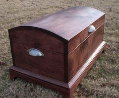 Reserved Listing For Marcuscooper - Maple Solid Wood Hope Chest - 25.5 X 15.5 X…