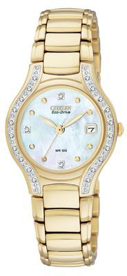online shopping for Citizen Women's Silhouette Diamond Eco Drive Watch from top store. See new offer for Citizen Women's Silhouette Diamond Eco Drive Watch Brilliant Diamond, Watches Online, Citizen, Gold Watch, Bracelet Watch, Silhouette, Lady, Latest Updates, Debenhams