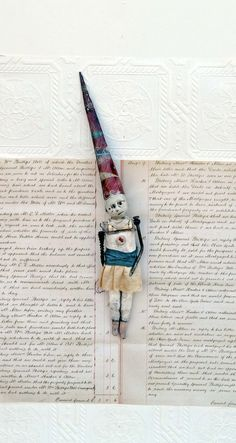 Mixed Media Art Doll Tip by Indiandollartworks