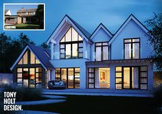 Tony Holt Design : Self build remodel of existing house in Dorset - Beach House style