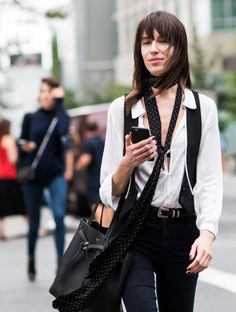 MADE IN CHICISTAN.: Trend to Try: The Skinny Scarf