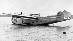 NC18602. Pan American Airways System - in the full livery at Waitemata Harbour, Auckland, circa 1939.