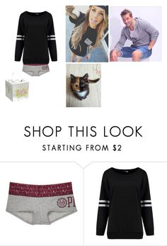 """sick day"" by winniemjones ❤ liked on Polyvore featuring Victoria's Secret and Teamson Design"