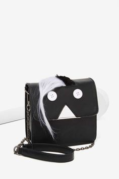 Freak Out Vegan Leather Crossbody Bag