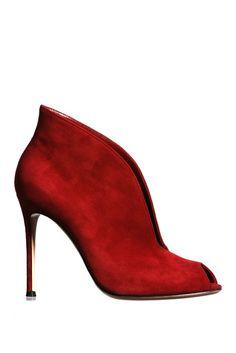 Shoes. Fall 2012 Trend: Fine Wine-  Gianvito Rossi
