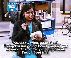 Sometimes we realize our daily goals should be dealt with tomorrow and that's OK with us. Fantastic Quotes, The Mindy Project, Mindy Kaling, Daily Goals, Jane The Virgin, Young And The Restless, Fan Fiction, Call Her, Spirit Animal