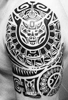 Resultado de imagen para tattoo maori no cotovelo #hawaiiantattoossleeve