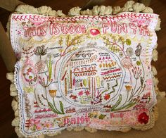 my finished Rebecca Ringquist sampler pattern by pam garrison, via Flickr