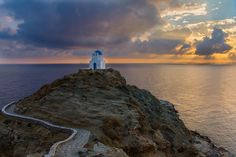Seven martyrs church in Sifnos by Charly LATASTE