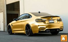 BMW F82 M4 gold