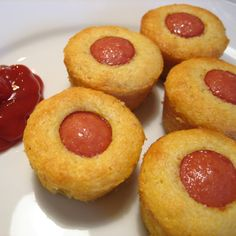 . Mini Corn Dog Muffins Recipe from Grandmothers Kitchen.