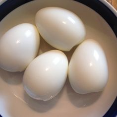 Perfect Hard Boiled Eggs (Easy Peeling) Review: it actually works! The peel slides right off!