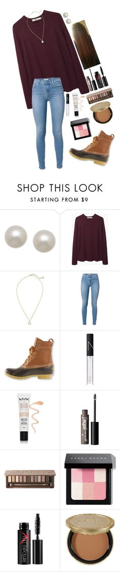 """""""Ootd"""" by annahbirch ❤ liked on Polyvore featuring Honora, Hope, Kendra Scott, L.L.Bean, NARS Cosmetics, NYX, Urban Decay, Bobbi Brown Cosmetics, Smashbox and Too Faced Cosmetics"""
