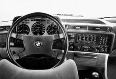 1970s BMW 7-Series (E23) interior. When cars had souls.