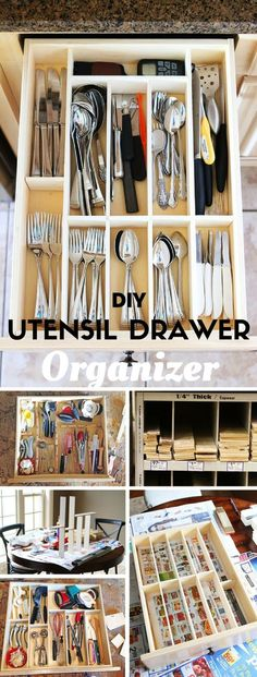 Check out the tutorial: #DIY Kiychen Utensil- Drawer Organizer @istandarddesign