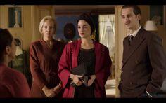 Sira Quiroga turbante negro, Ignacio y Doña Manuela. El tiempo entre costuras. Capítulo 7