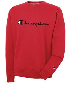 8f60e4f326ab3 Champion Men Powerblend Fleece Logo Sweatshirt