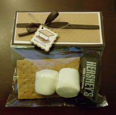 S'mores Set-  gonna make these for church volunteers-