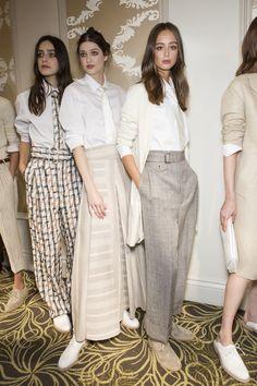 Daks at London Fashion Week Spring 2018 - Backstage Runway Photos