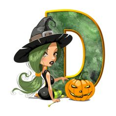 Halloween Letters, Halloween Iii, Holidays Halloween, Alphabet, Disney Characters, Fictional Characters, Princess Zelda, Symbols, Abcs