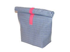 Brotdose aus Isolierfolie // foldable lunchbag via DaWanda.com