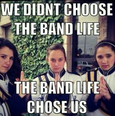 hahah love these girls!!!  The band life...